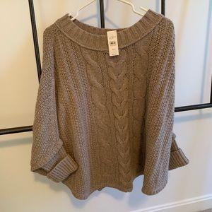 Ann Taylor Loft drape sweater.